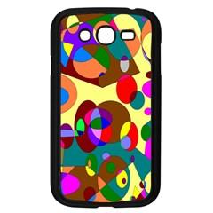 Abstract Digital Circle Computer Graphic Samsung Galaxy Grand Duos I9082 Case (black) by Nexatart