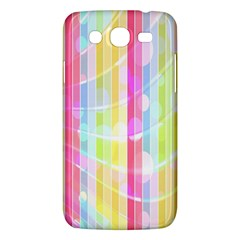Abstract Stipes Colorful Background Circles And Waves Wallpaper Samsung Galaxy Mega 5 8 I9152 Hardshell Case  by Nexatart