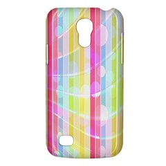 Abstract Stipes Colorful Background Circles And Waves Wallpaper Galaxy S4 Mini by Nexatart
