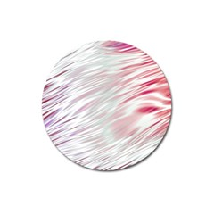Fluorescent Flames Background With Special Light Effects Magnet 3  (round) by Nexatart