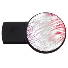 Fluorescent Flames Background With Special Light Effects Usb Flash Drive Round (2 Gb) by Nexatart