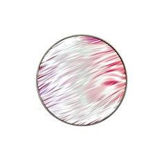 Fluorescent Flames Background With Special Light Effects Hat Clip Ball Marker (4 Pack)