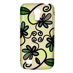 Completely Seamless Tileable Doodle Flower Art Galaxy S4 Mini by Nexatart