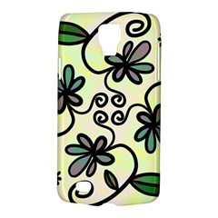 Completely Seamless Tileable Doodle Flower Art Galaxy S4 Active by Nexatart