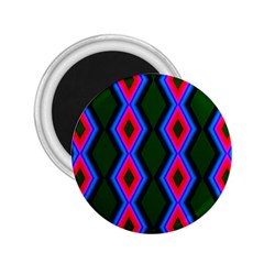 Quadrate Repetition Abstract Pattern 2 25  Magnets by Nexatart