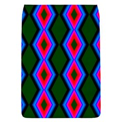 Quadrate Repetition Abstract Pattern Flap Covers (s)  by Nexatart