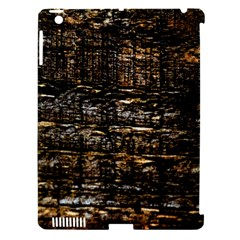 Wood Texture Dark Background Pattern Apple Ipad 3/4 Hardshell Case (compatible With Smart Cover) by Nexatart