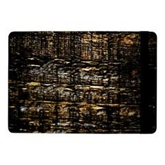 Wood Texture Dark Background Pattern Samsung Galaxy Tab Pro 10 1  Flip Case by Nexatart