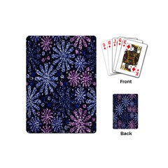 Pixel Pattern Colorful And Glittering Pixelated Playing Cards (mini)  by Nexatart