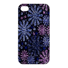 Pixel Pattern Colorful And Glittering Pixelated Apple Iphone 4/4s Hardshell Case by Nexatart