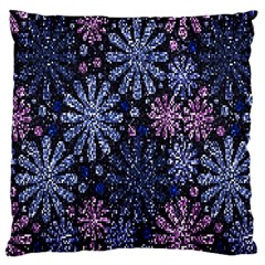 Pixel Pattern Colorful And Glittering Pixelated Large Cushion Case (two Sides) by Nexatart