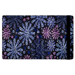 Pixel Pattern Colorful And Glittering Pixelated Apple Ipad 2 Flip Case by Nexatart
