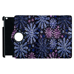Pixel Pattern Colorful And Glittering Pixelated Apple Ipad 2 Flip 360 Case by Nexatart