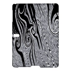 Abstract Swirling Pattern Background Wallpaper Samsung Galaxy Tab S (10 5 ) Hardshell Case  by Nexatart