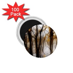 Fall Forest Artistic Background 1 75  Magnets (100 Pack)  by Nexatart