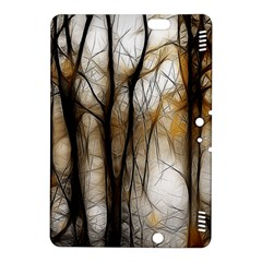 Fall Forest Artistic Background Kindle Fire Hdx 8 9  Hardshell Case by Nexatart