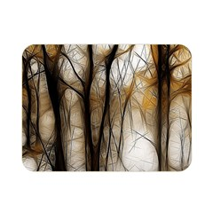 Fall Forest Artistic Background Double Sided Flano Blanket (mini)  by Nexatart