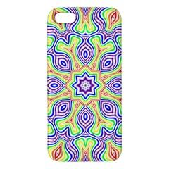 Rainbow Kaleidoscope Iphone 5s/ Se Premium Hardshell Case by Nexatart