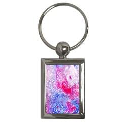 Glitter Pattern Background Key Chains (rectangle)  by Nexatart
