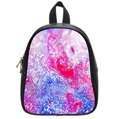 Glitter Pattern Background School Bags (small)  by Nexatart