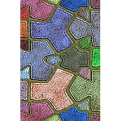Background With Color Kindergarten Tiles 5 5  X 8 5  Notebooks by Nexatart