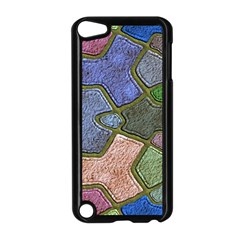 Background With Color Kindergarten Tiles Apple iPod Touch 5 Case (Black) by Nexatart