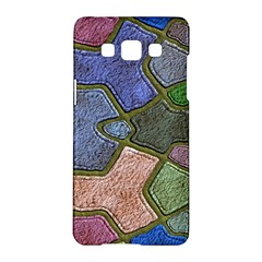 Background With Color Kindergarten Tiles Samsung Galaxy A5 Hardshell Case  by Nexatart