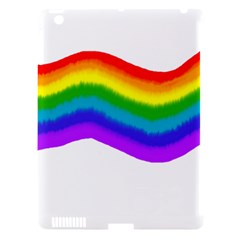 Watercolour Rainbow Colours Apple Ipad 3/4 Hardshell Case (compatible With Smart Cover) by Nexatart