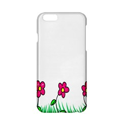 Floral Doodle Flower Border Cartoon Apple Iphone 6/6s Hardshell Case