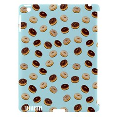 Donuts Pattern Apple Ipad 3/4 Hardshell Case (compatible With Smart Cover) by Valentinaart