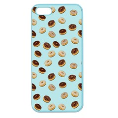 Donuts Pattern Apple Seamless Iphone 5 Case (color) by Valentinaart