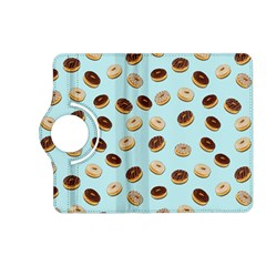 Donuts Pattern Kindle Fire Hd (2013) Flip 360 Case by Valentinaart