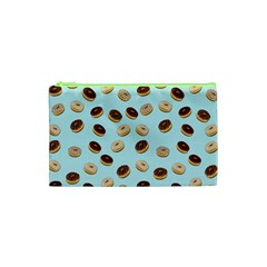 Donuts Pattern Cosmetic Bag (xs) by Valentinaart
