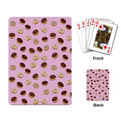 Donuts Pattern Playing Card by Valentinaart