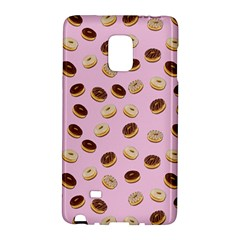 Donuts Pattern Galaxy Note Edge by Valentinaart