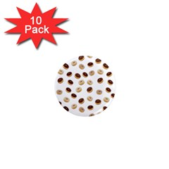 Donuts Pattern 1  Mini Magnet (10 Pack)  by Valentinaart