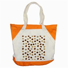 Donuts Pattern Accent Tote Bag by Valentinaart