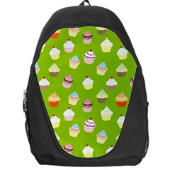 Cupcakes Pattern Backpack Bag by Valentinaart