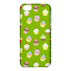 Cupcakes Pattern Apple Iphone 5c Hardshell Case by Valentinaart