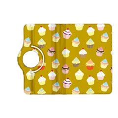 Cupcakes Pattern Kindle Fire Hd (2013) Flip 360 Case by Valentinaart