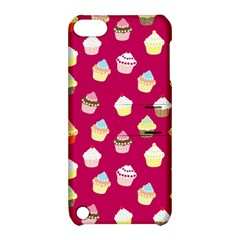 Cupcakes Pattern Apple Ipod Touch 5 Hardshell Case With Stand by Valentinaart
