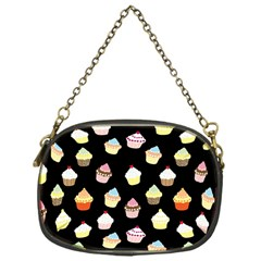 Cupcakes Pattern Chain Purses (one Side)  by Valentinaart