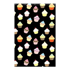 Cupcakes Pattern Shower Curtain 48  X 72  (small)  by Valentinaart