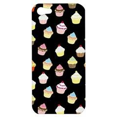 Cupcakes Pattern Apple Iphone 5 Hardshell Case by Valentinaart