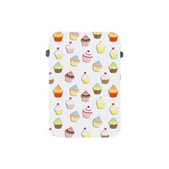 Cupcakes Pattern Apple Ipad Mini Protective Soft Cases by Valentinaart