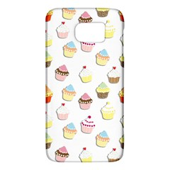 Cupcakes Pattern Galaxy S6 by Valentinaart