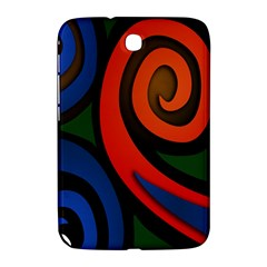Simple Batik Patterns Samsung Galaxy Note 8 0 N5100 Hardshell Case  by Onesevenart