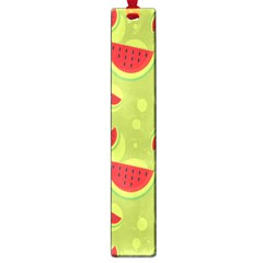 Watermelon Fruit Patterns Large Book Marks by Onesevenart
