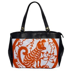 Chinese Zodiac Dog Office Handbags by Onesevenart