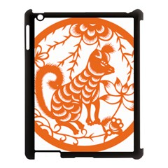 Chinese Zodiac Dog Apple Ipad 3/4 Case (black) by Onesevenart